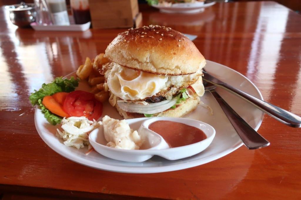 Jak burger, Namche