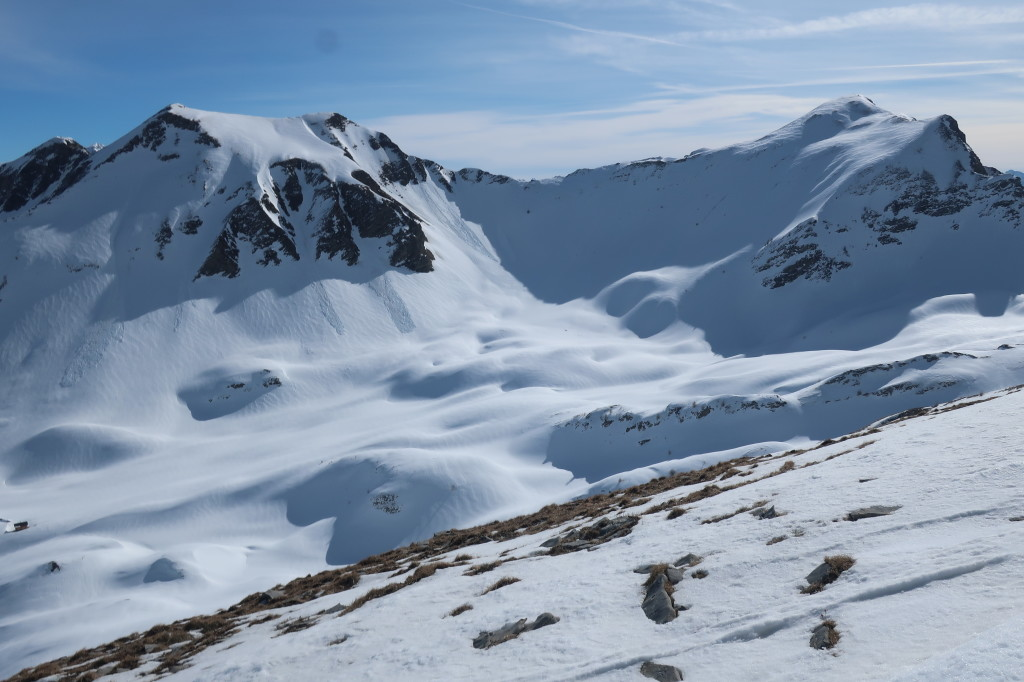 Haute Selle, a Col de Pourrachieres-ből