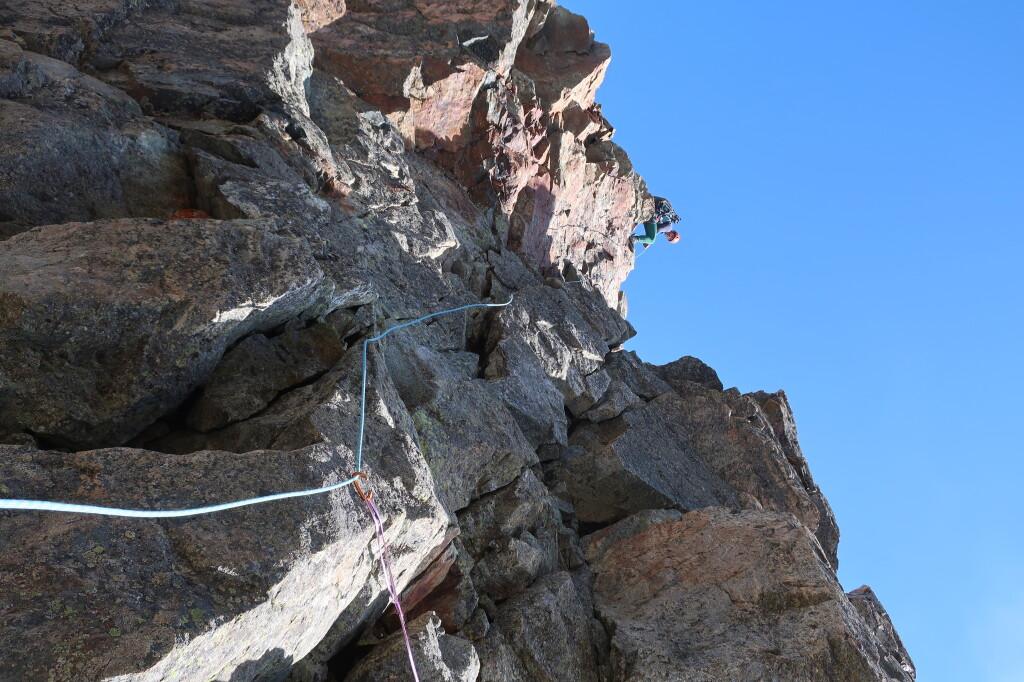 visszamászás ereszkedés közben