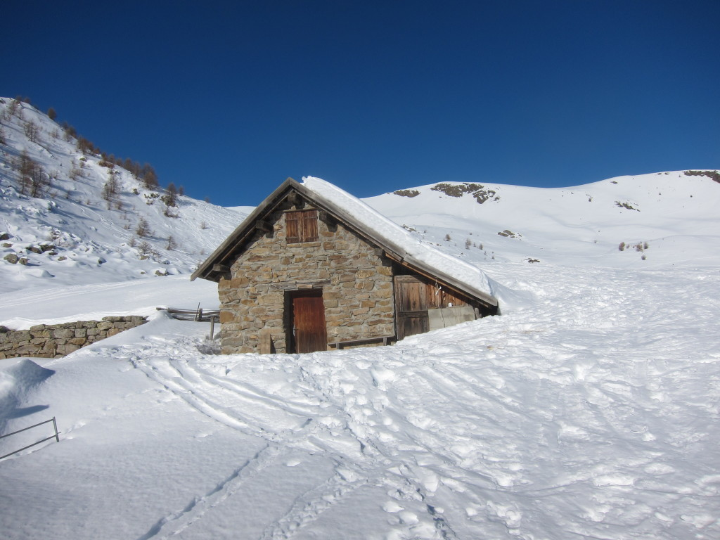 Le cabane de Clos Sarret nevű juhászlak (kb 2170m?)