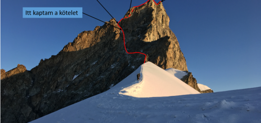 Zinalrothorn_route 2
